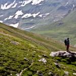 Explorer on way to Dudipatsar lake
