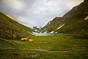 Saral lake, Neelum valley, Kashmir