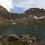 Fairy lake of Sat Sar Mala Lakes Series