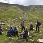 trekkers on the way Sat Sar Mala Lakes Series