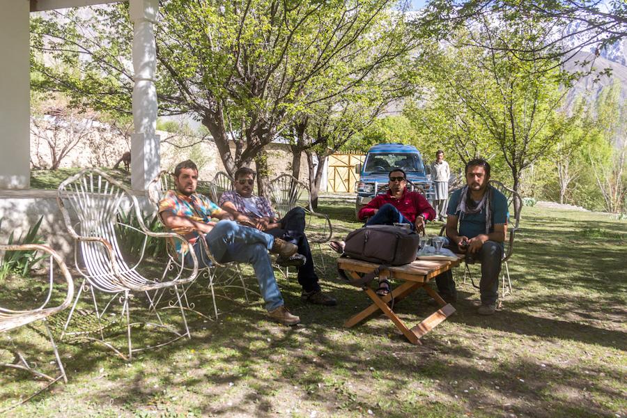 Chitral Gilgit Baltistan trip group photo
