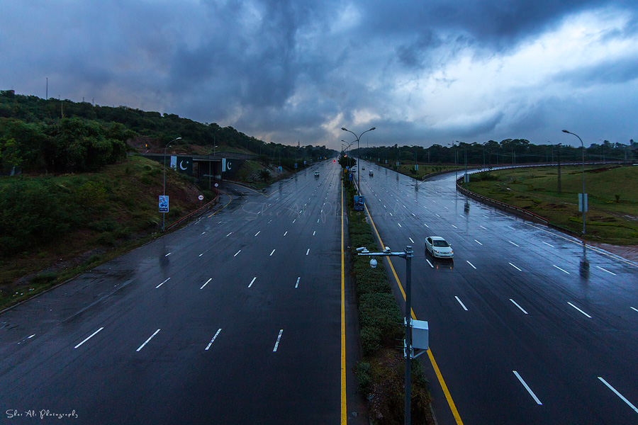 zero point islamabad after rain