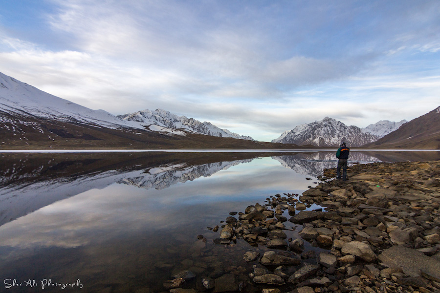 Shandur lake, Chitral District, KPK, Pakistan