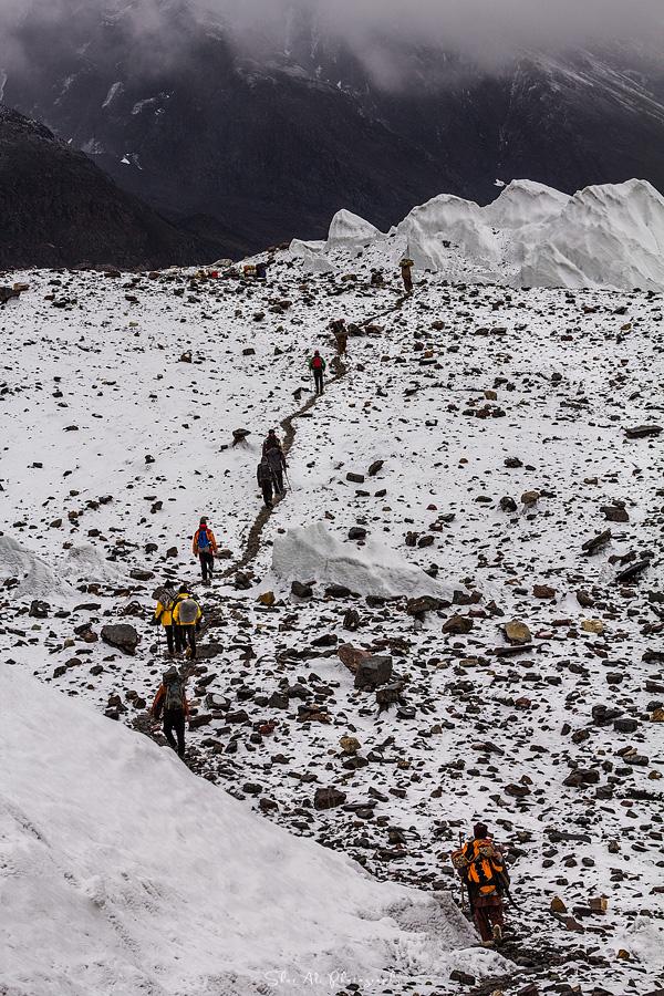 Goro-II, Baltoro glacier, Karakoram, Baltistan