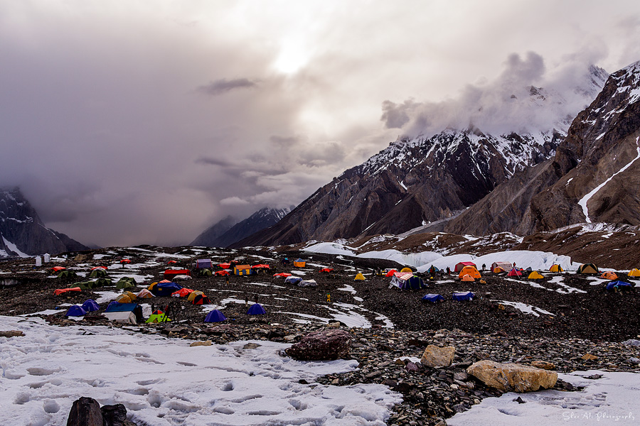 K2 base camp trek, Concordia, Karakoram, Baltistan, Pakistan