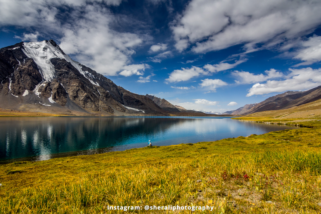 Karomber lake along Wakhan corridor - Adventure Treks in Pakistan