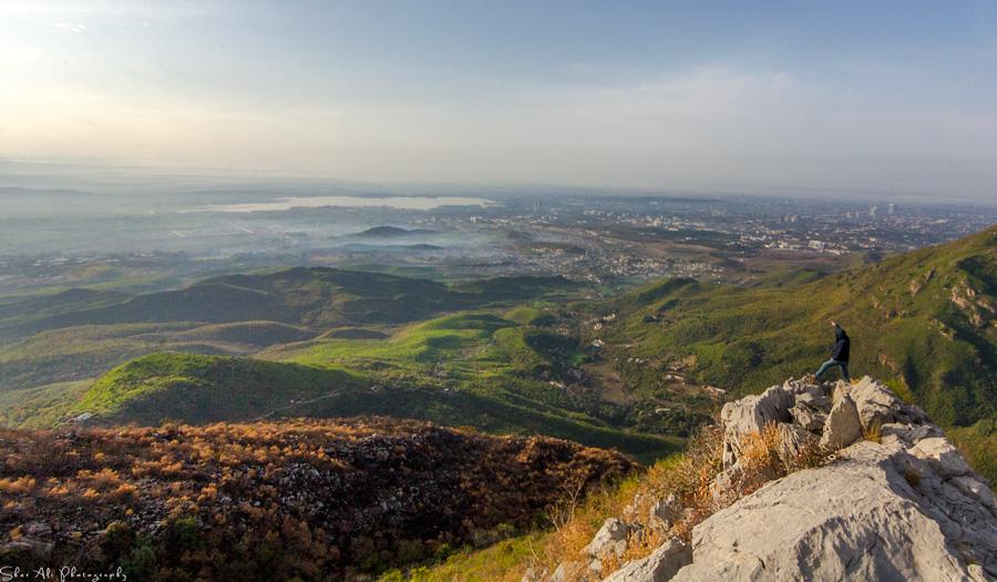 Loh-e-Dandi top, Margalla hills