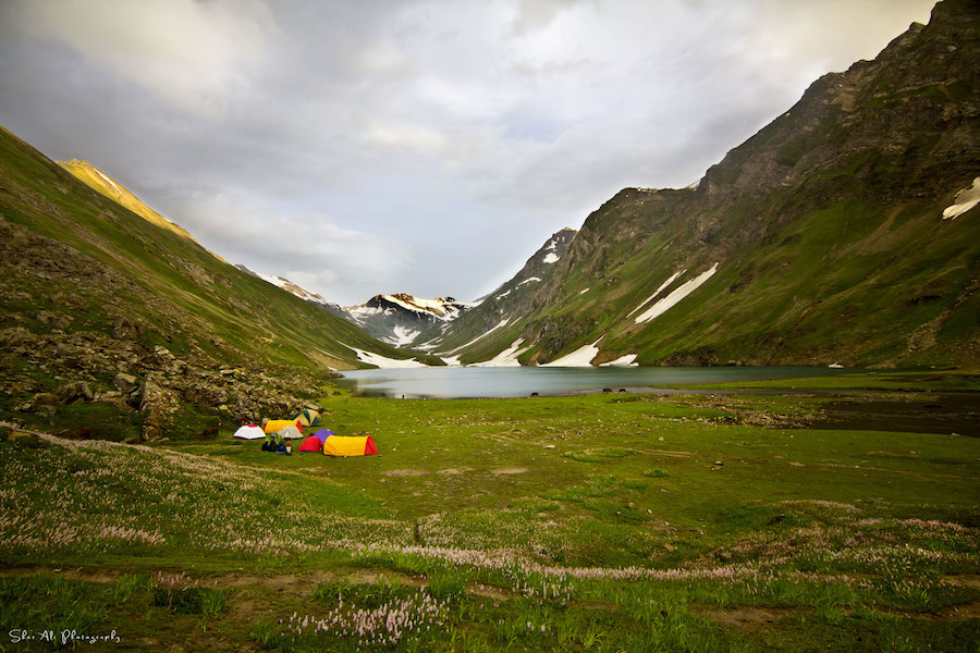 Saral lake, Neelum valley, Kashmir