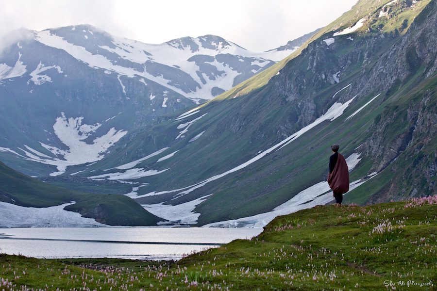 Solitude at Saral lake, Neelum valley, Kashmir