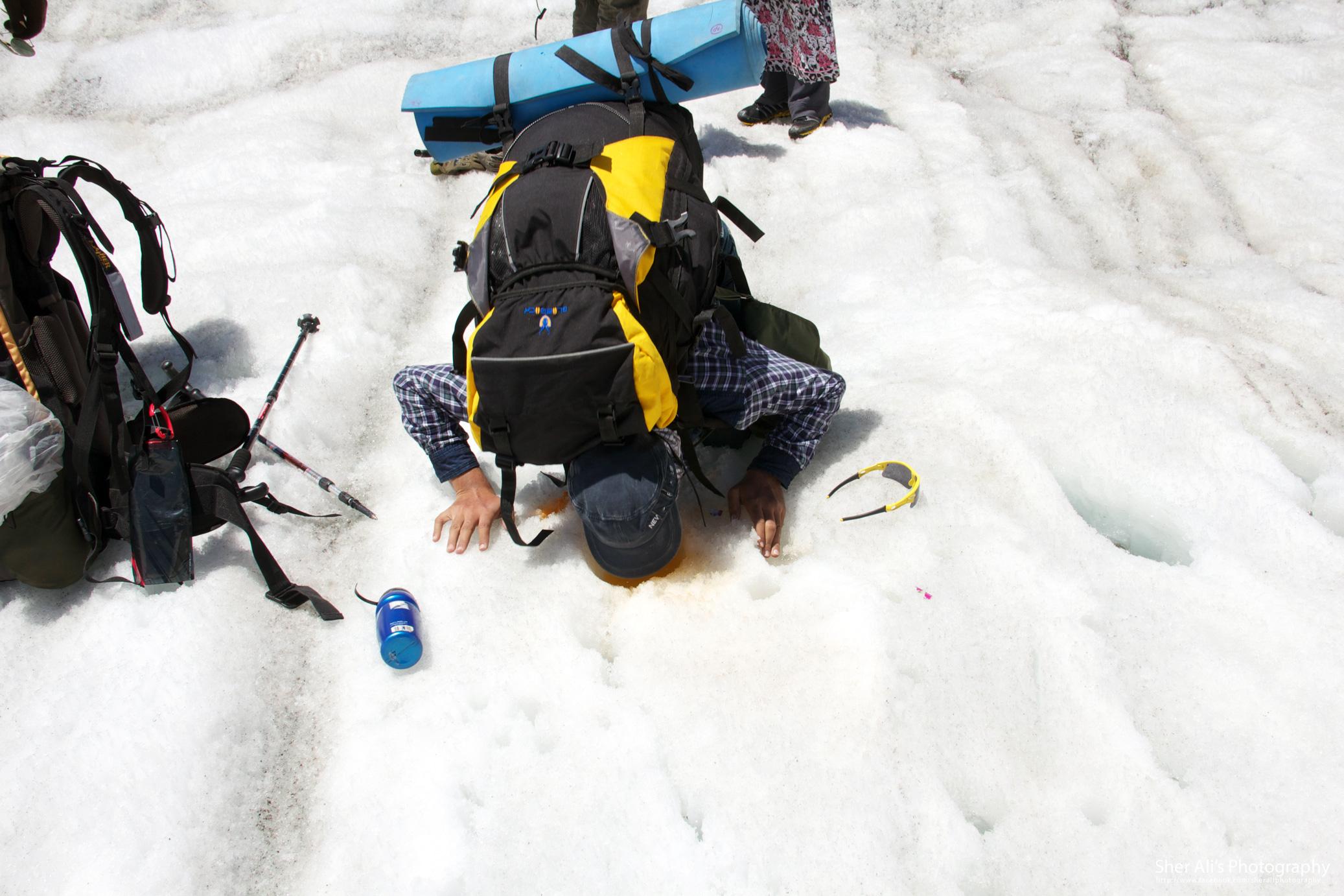 Tashain glacier, Mazeno base camp trek, Astore valley, Gilgit Baltistan