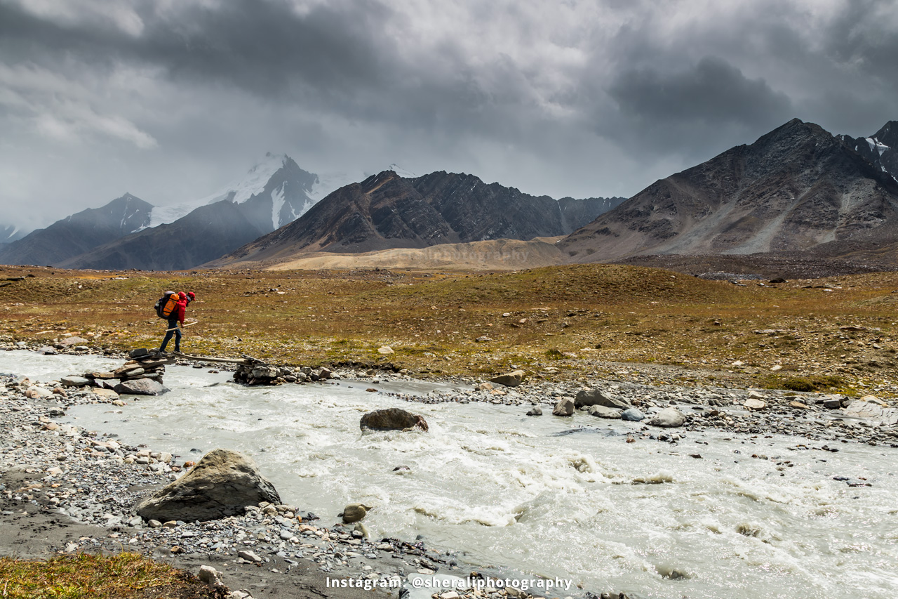 Trekking from Shwinj to Karomber lake via Polo ground in Ishkoman valley