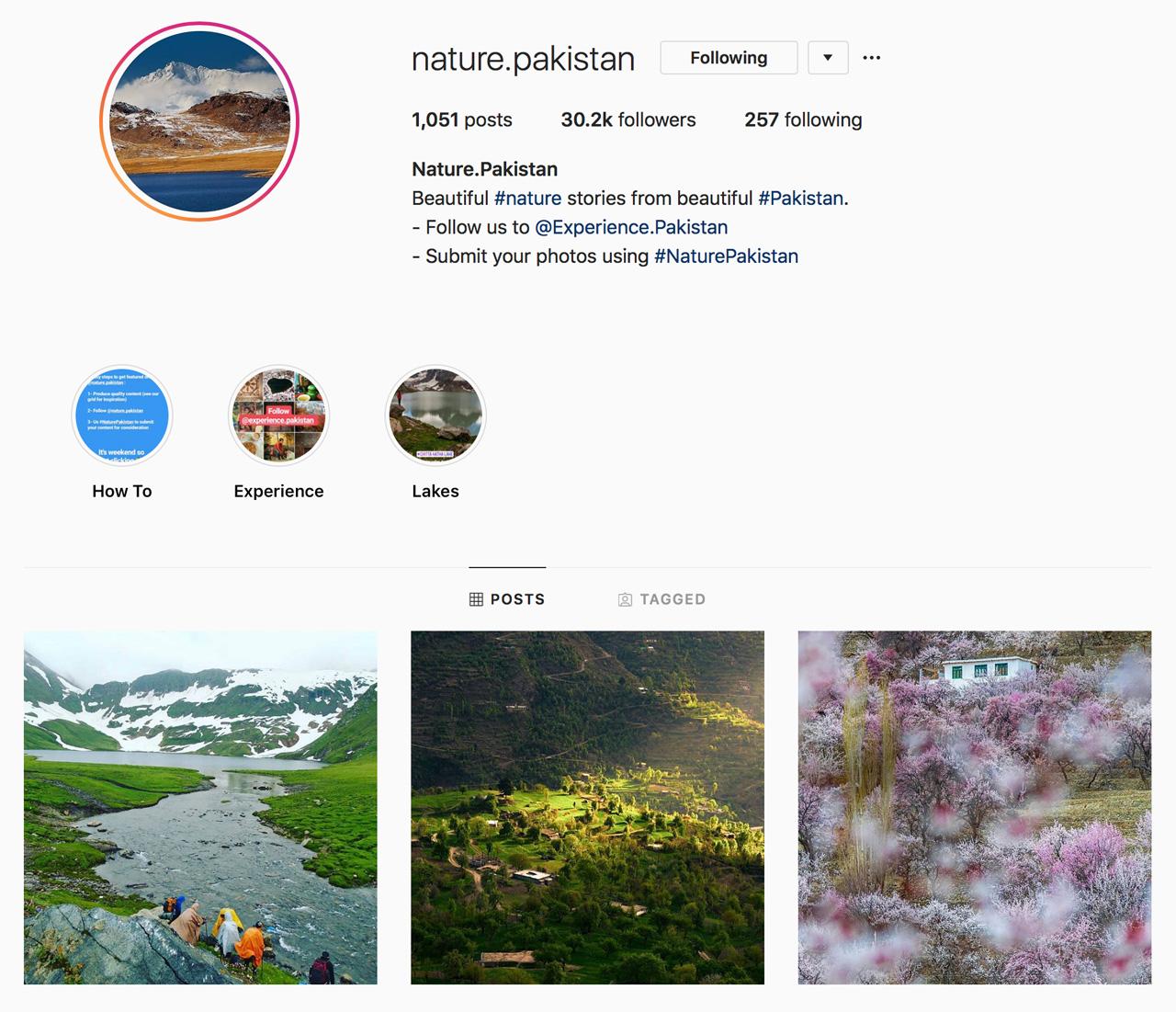 Nature.Pakistan on Instagram