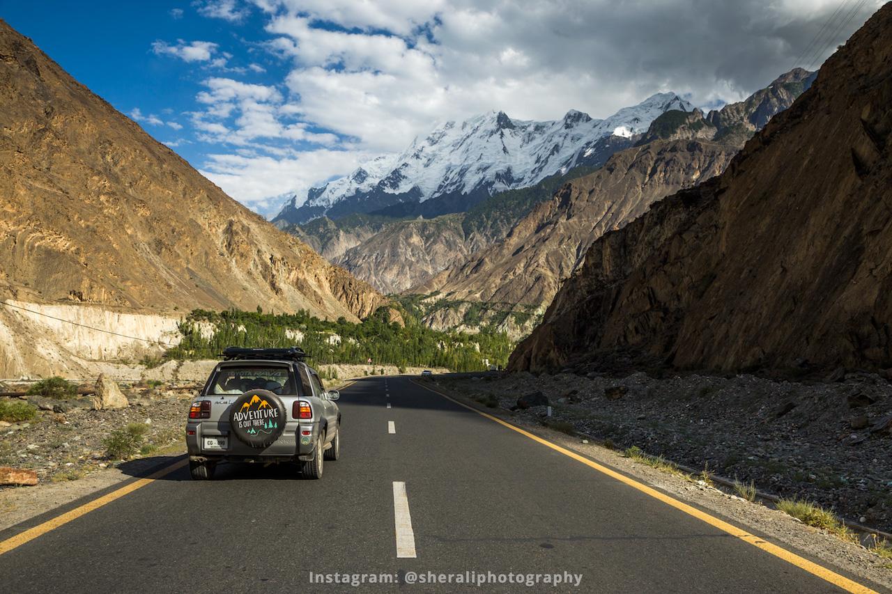 Rakaposhi view point, Karakoram highway