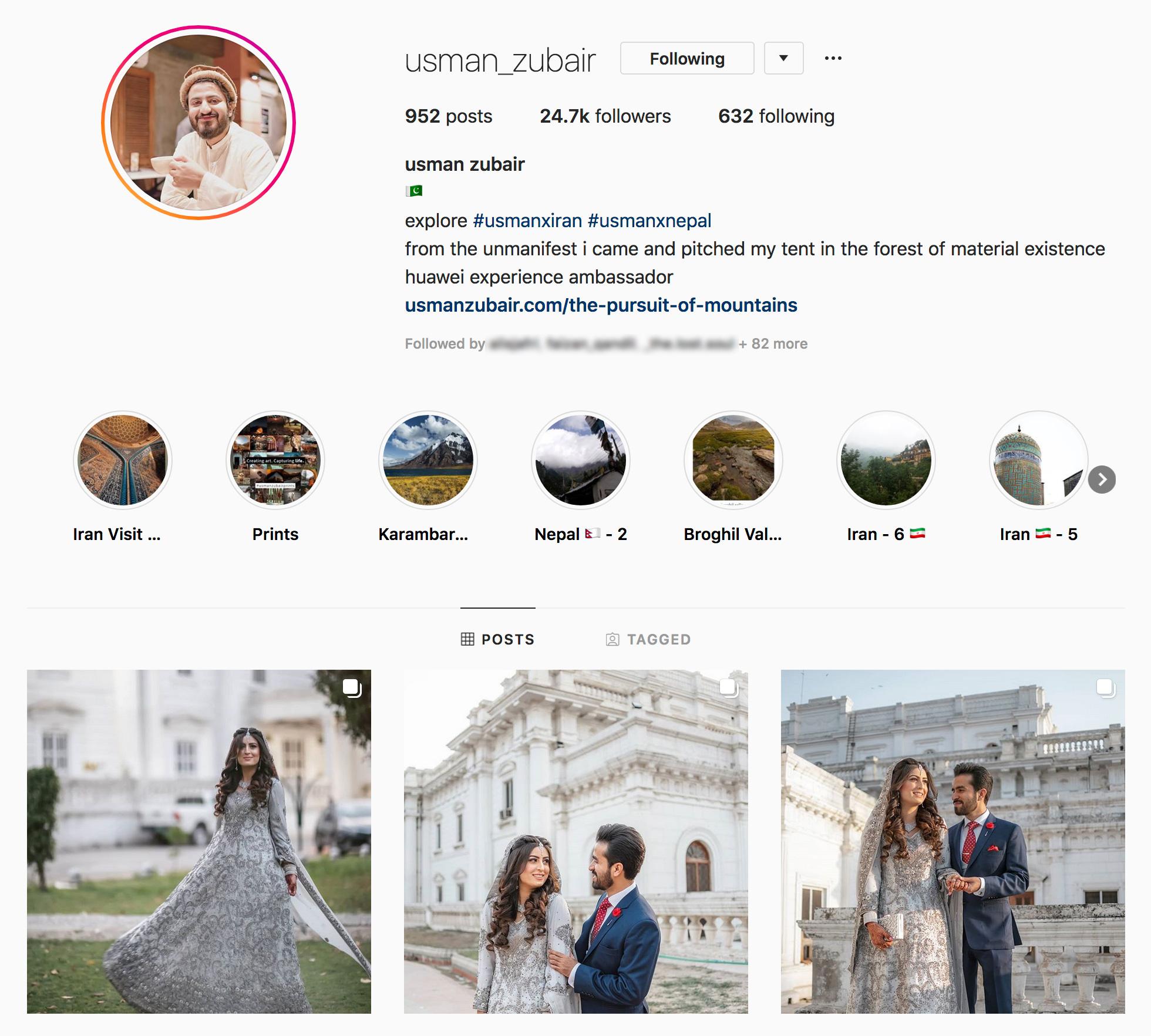 Usman Zubair on Instagram