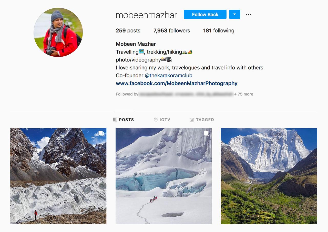 mobeenmazhar on Instagram