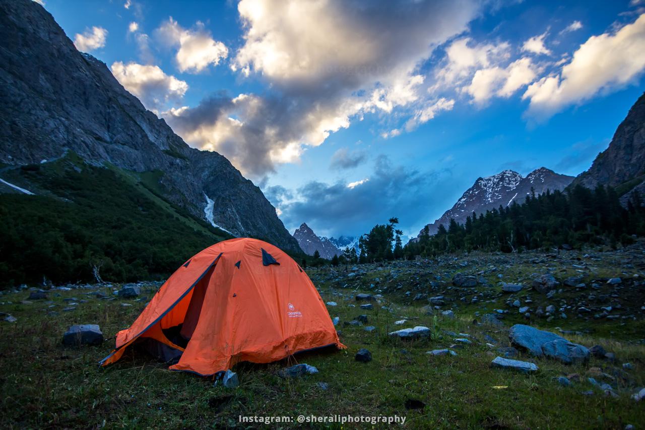 Camping at Charote Banda Meadows in Kumrat valley