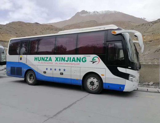 Hunza Xinjiang New bus service
