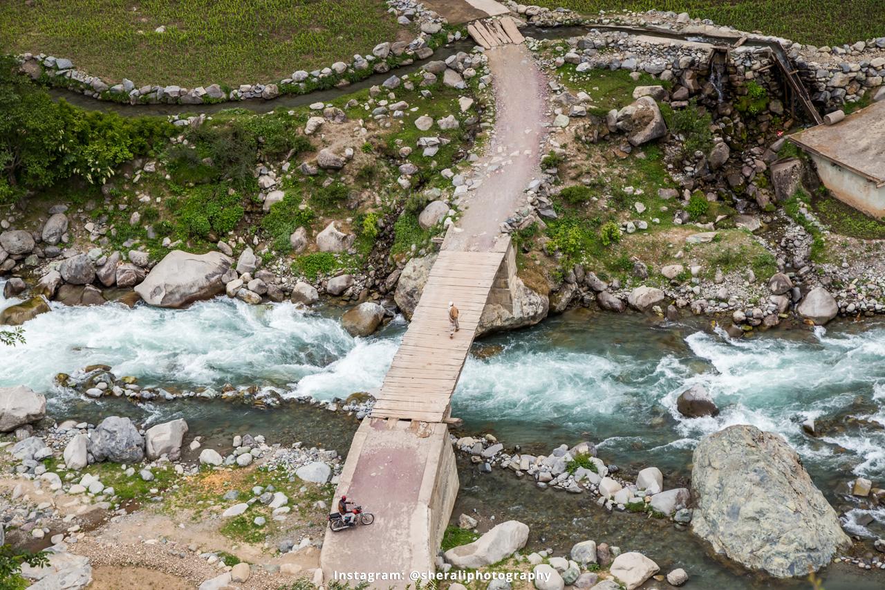 Jandrai village - gateway to Jahaz Banda meadows and Katora lake
