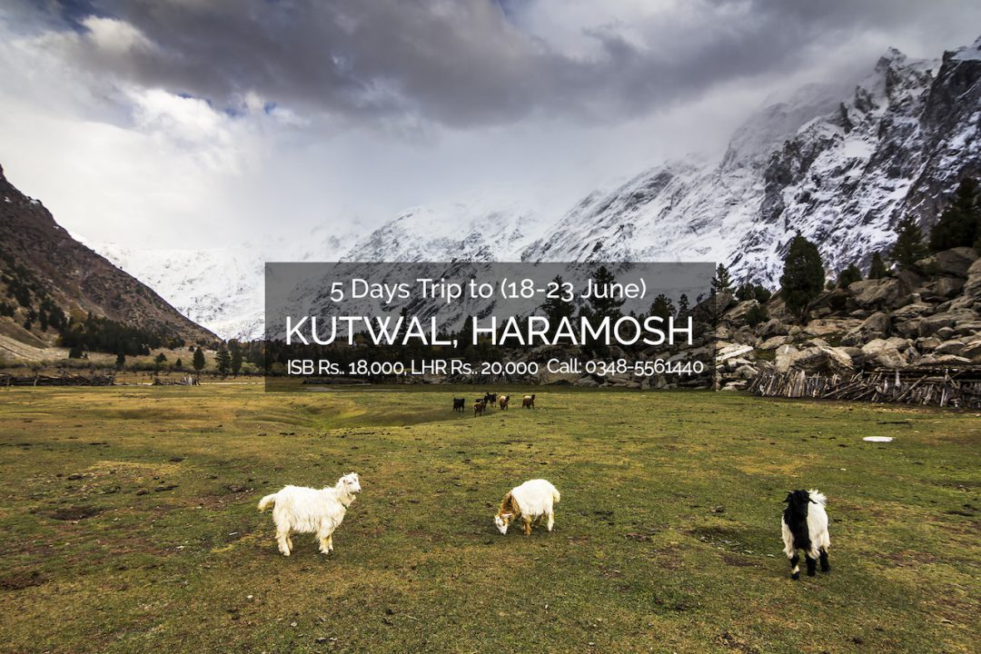 Kutwal lake Haramosh valley trip