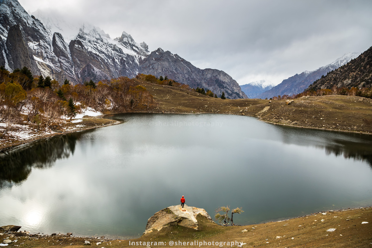 Kutwal lake, Haramosh valley