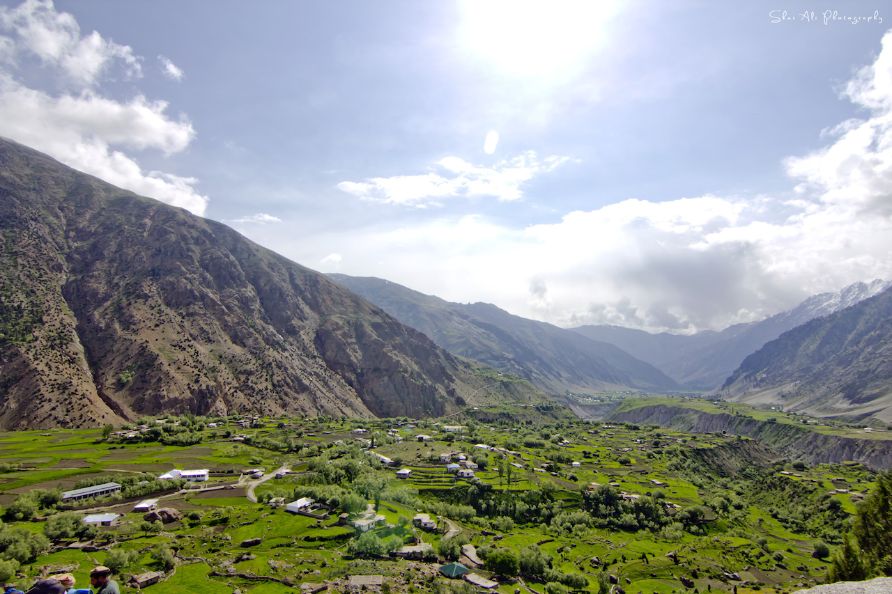 Tirishing village, Atore valley
