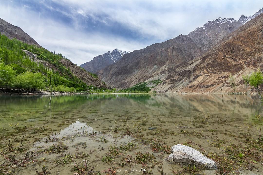 Khalti lake Gupis, Gilgit Baltistan