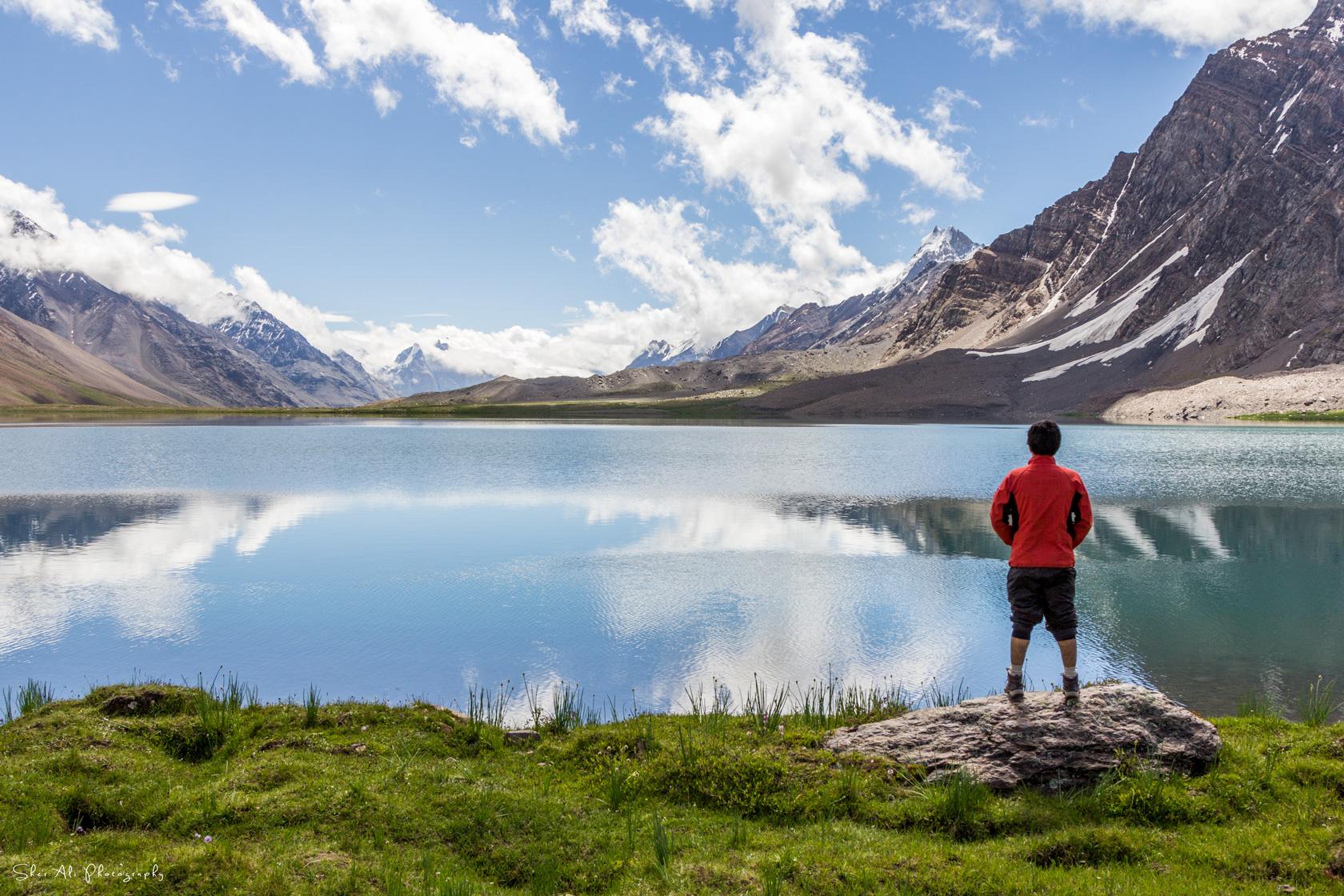 Karomber lake Ishkoman Gilgit Baltistan