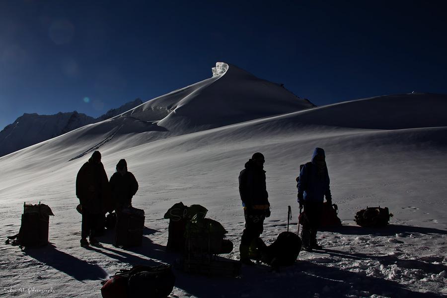 Gondogoro La (5940m) top, Karakoram, Baltistan