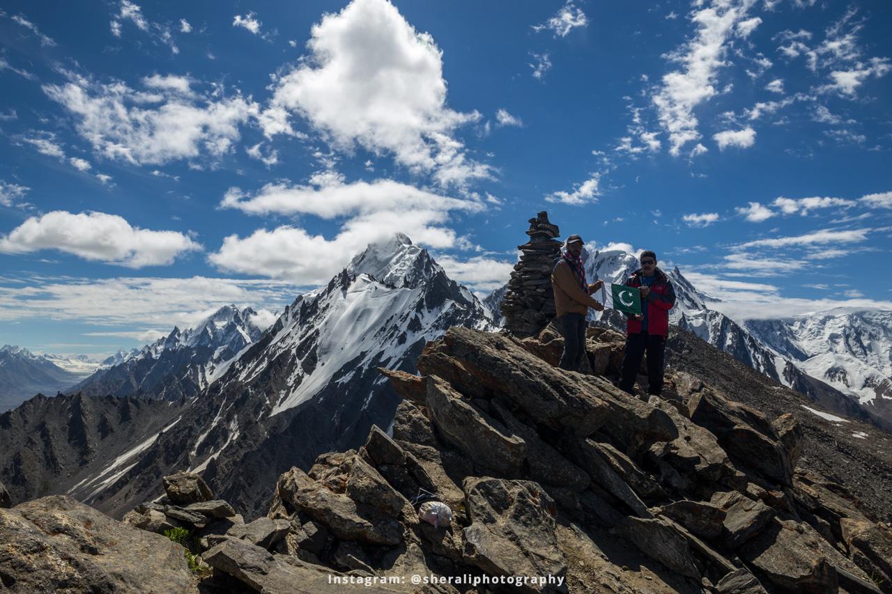 K2 view point at Rush Phari Peak