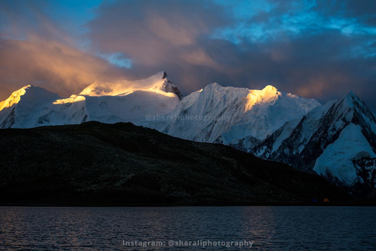 Sunrise at Rush lake