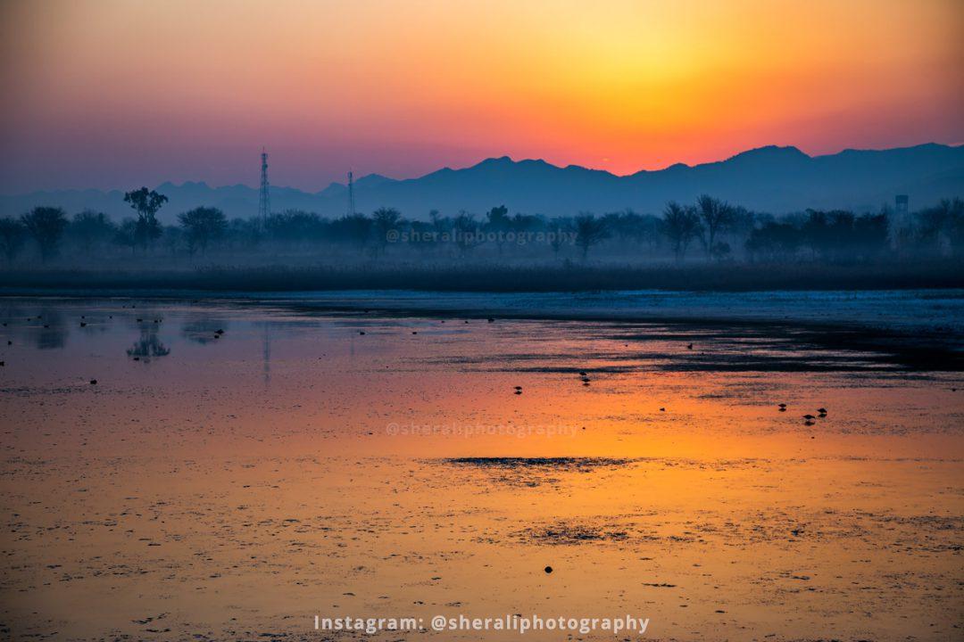Uchali lake, Soon Sakesar valley, Khushab, Punjab
