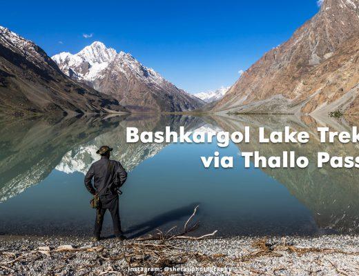 Bashkargol Lake Trek via Thallo Pass