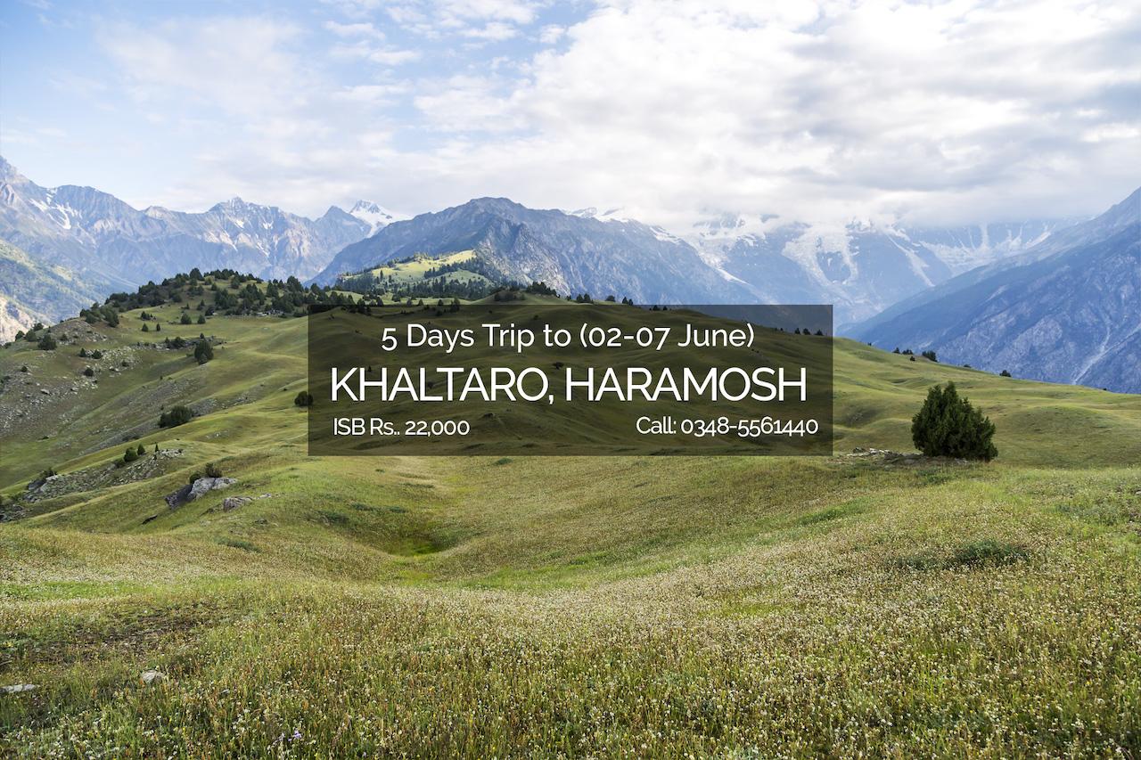 Khaltaro valley, Haramosh trip